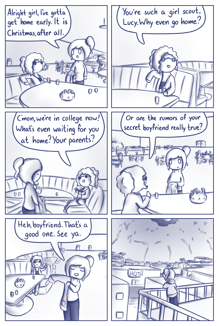 In this comic, calling someone a girl scout can have many very different meanings.